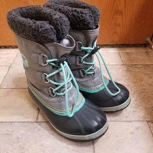 Sorel Yoot Pac Gray Waterproof Boots